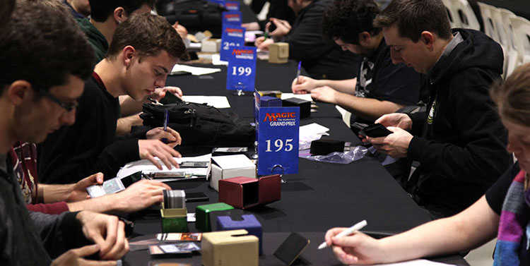 Magic the gathering tournament